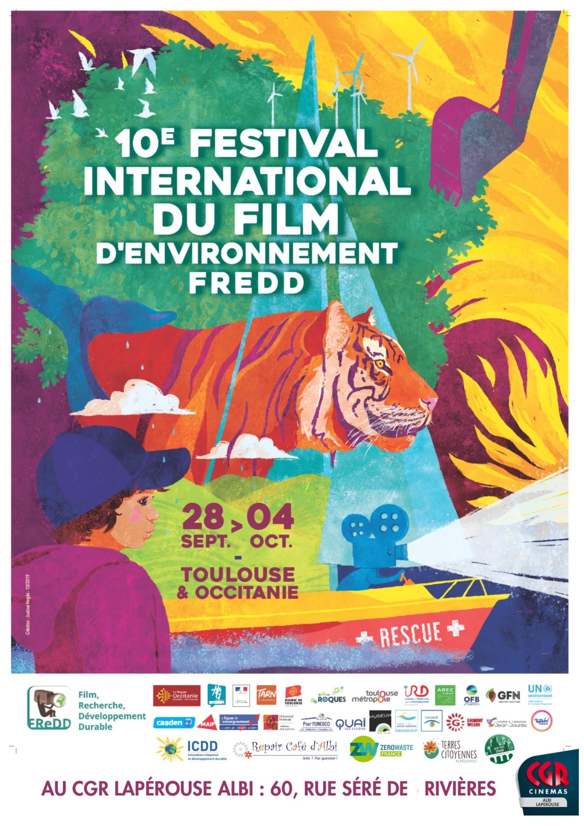 Ce mardi 29/09 et ce vendredi 02/10, retrouvez-nous au cinéma CGR Lapérouse, dans le cadre du FREDD!