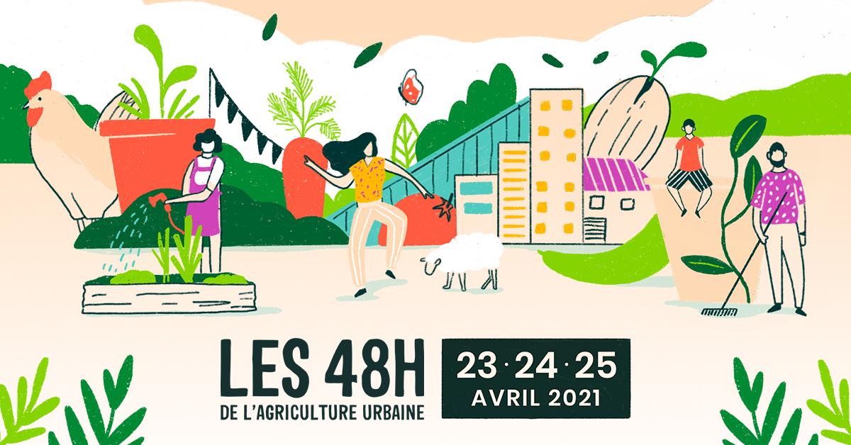 Les 48h de l'Agriculture urbaine en 2021
